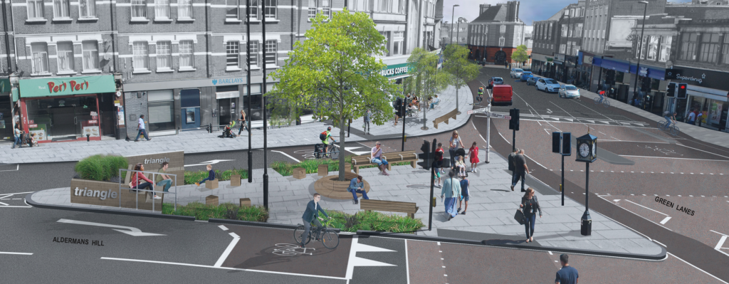 Palmers Green Triangle Future Look