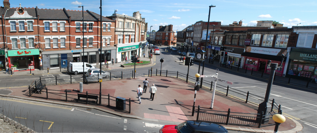 Palmers Green Triangle current view