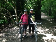 cycling 'The Greenway'