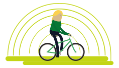 Safe cycle routes